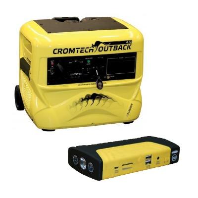 Cromtech 4500W Inverter Generator Electric Start
