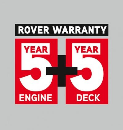 5 Year Rover Warranty